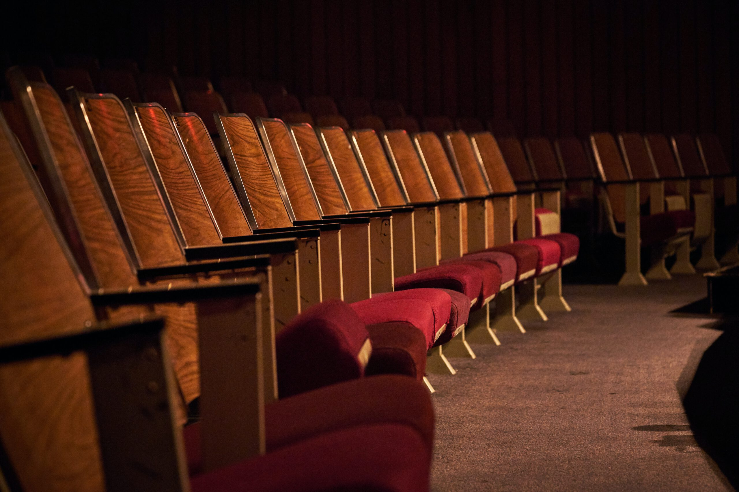 Teatterin istuimia